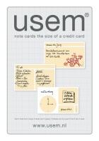 Multifunctioneel notitie-kaartjes