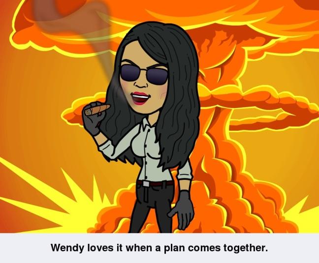 A plans comes (c) W.H. de la Rambelje