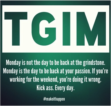 thank god its monday Listen to music from thank god its monday like everyone else has had more sex than me find the latest tracks, albums, and images from thank god its monday.