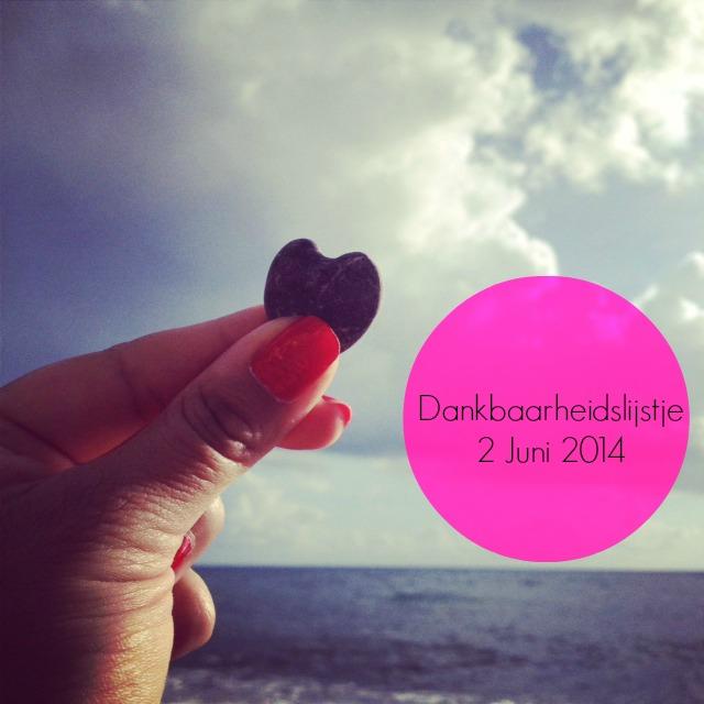 Dankbaarheidslijstje 2 Juni 2014 (c) W.H. de la Rambelje