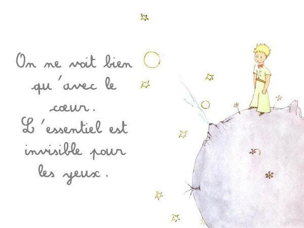 Le Petit Prince, Antoine de St Exupery via Pinterest.com
